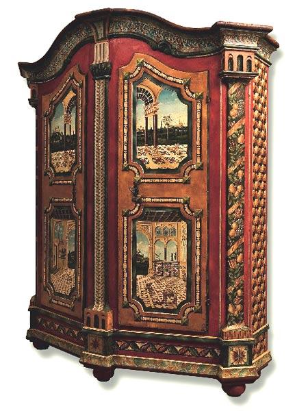 Peinture sur meubles de jean pierre besenval for Peinture sur meuble