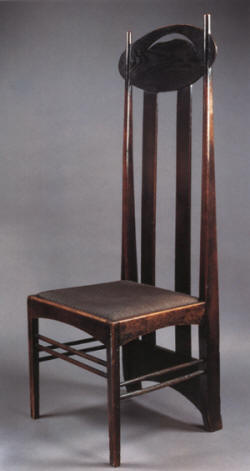 charles rennie mackintosh 1868 1927 architecte designer. Black Bedroom Furniture Sets. Home Design Ideas